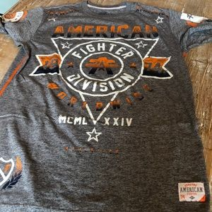 American fighter tee for Buckle